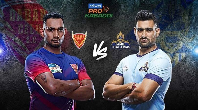 DEL VS TAM Dream 11 Team Prediction: Dabang Delhi K.C. Vs Tamil Thalaivas Pro Kabaddi League Dream 11 Team Picks, Match Report And Probable Playing 7 And Winner