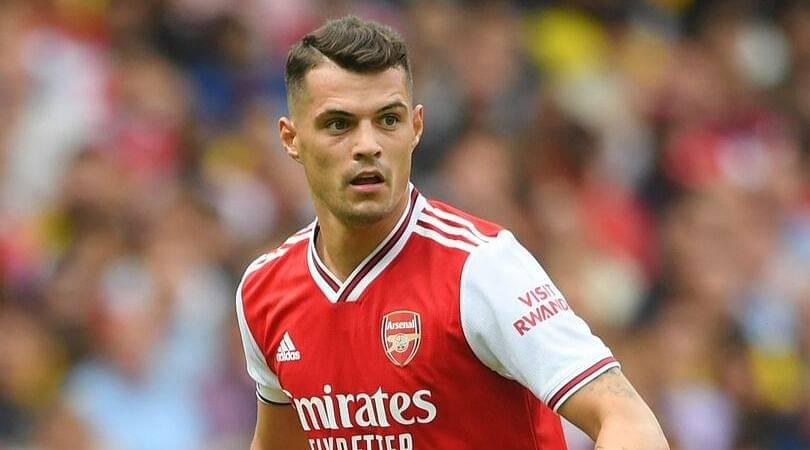 Arsenal News: Granit Xhaka named as Arsenal's new permanent captain