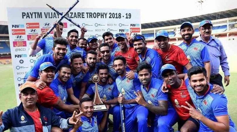 Image result for vijay hazare trophy