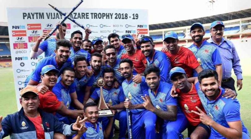 Vijay Hazare Trophy Winner's list and Most Titles