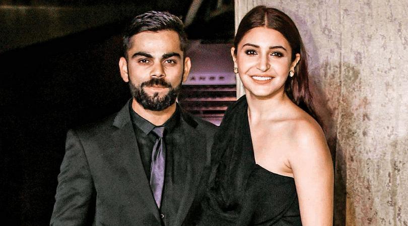 What did Virat Kohli say to Anushka Sharma when they first met?