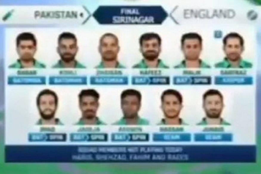 Watch: Pakistani video surfaces showing Virat Kohli in Pakistan lineup, Indian twitter reacts