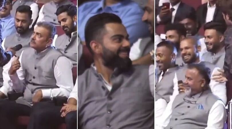 Virat Kohli songs playlist: Watch Shikhar Dhawan and Ravi Shastri reveal Kohli's favourite music playlist