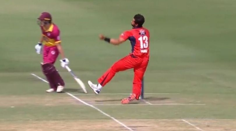WATCH: Wes Agar survives massive injury scare after faulty landing in Marsh Cup