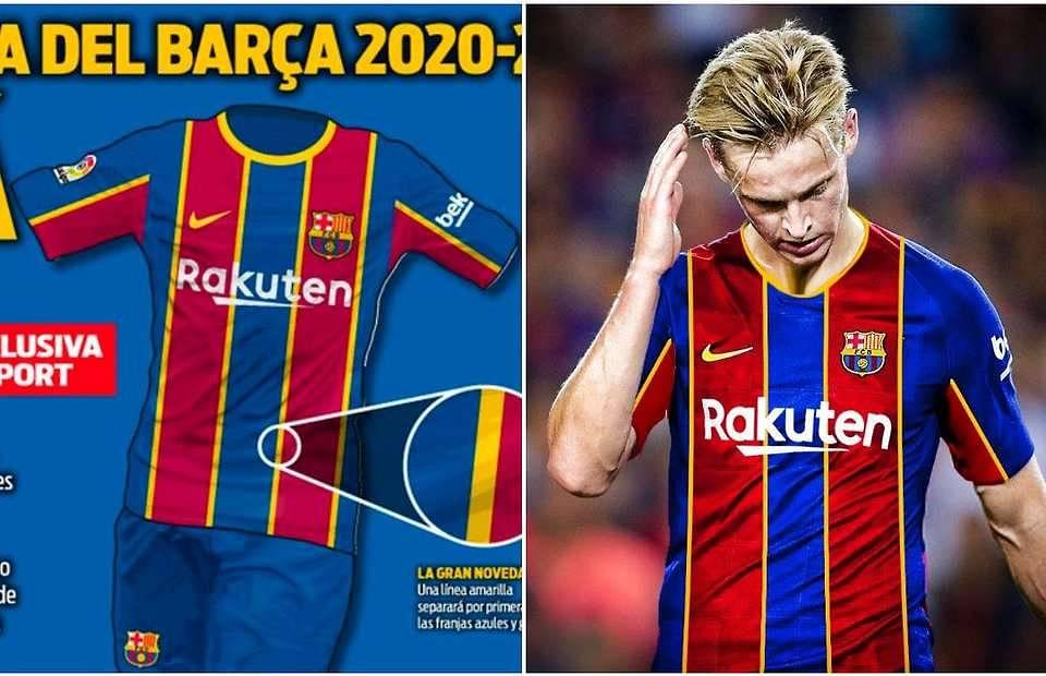 Barcelona S Home Kit For 2020 21 Season Is Leaked The Sportsrush