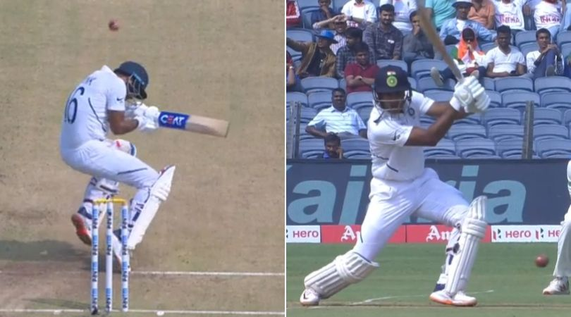 WATCH: Anrich Nortje hits Mayank Agarwal in the helmet; Agarwal follows it with sublime drive