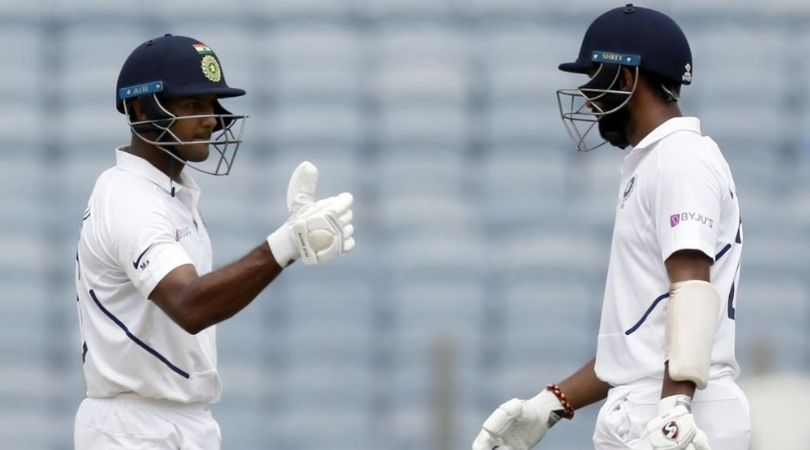 Twitter reactions on Mayank Agarwal's second Test century vs South Africa in Pune