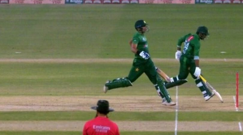 WATCH: Sarfaraz Ahmed and Iftikhar Ahmed involved in hilarious miscommunication vs Sri Lanka in Lahore