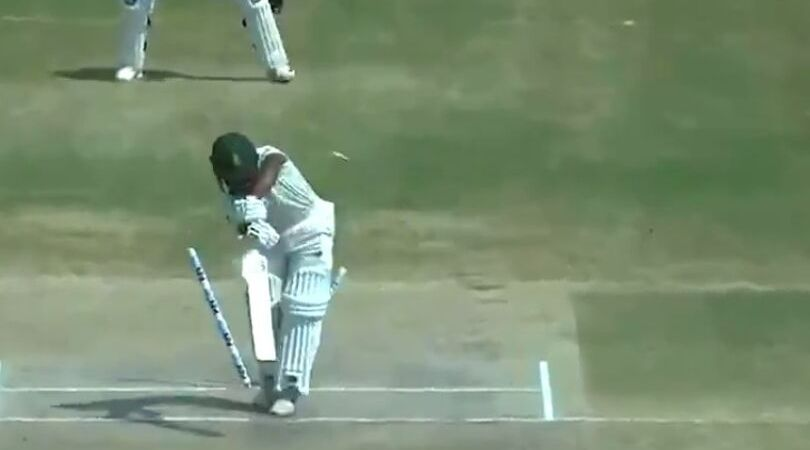 WATCH: Mohammed Shami castles Temba Bavuma in 1st India vs South Africa Test in Visakhapatnam