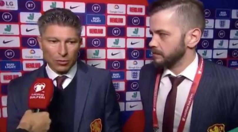 Bulgaria manager Krasimir Balakov shockingly denies hearing any racism against England players!