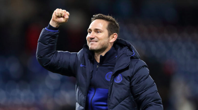 Chelsea manager Frank Lampard sends a warning to Manchester United
