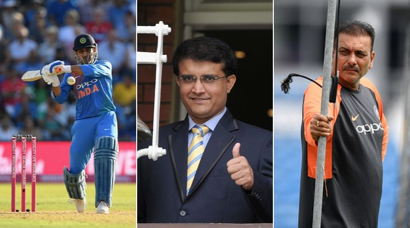 Sourav Ganguly latest news: Did Ganguly speak to MS Dhoni and Ravi Shastri after becoming BCCI President?