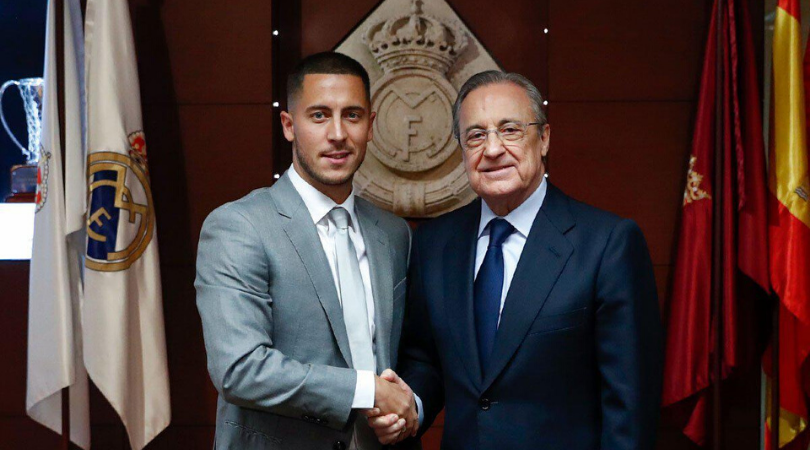 Eden Hazard confesses that he had a secret meeting with Florentino Perez before leaving Chelsea