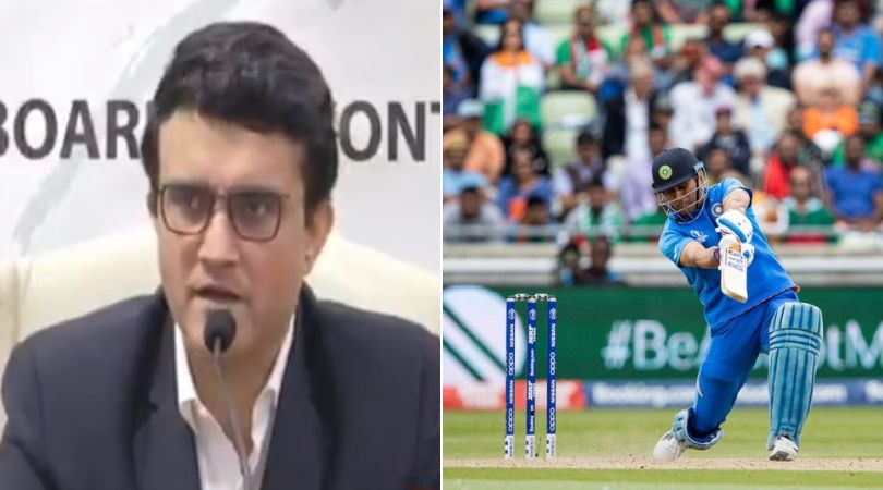 Sourav Ganguly Press Conference: Watch BCCI President talks about MS Dhoni's future