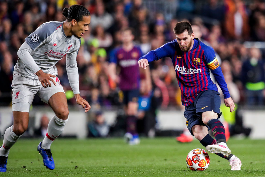 Barcelona News: Lionel Messi explains why it is so hard to get past Virgil Van Dijk