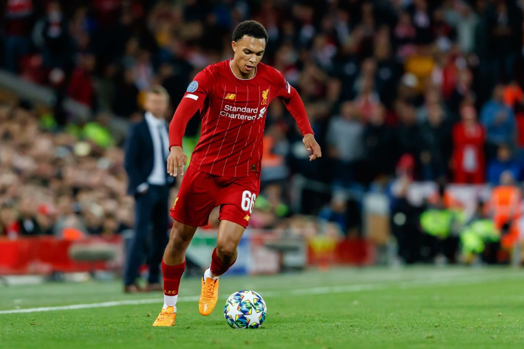 Trent Alexander Arnold sets a new Guinness World record with Liverpool
