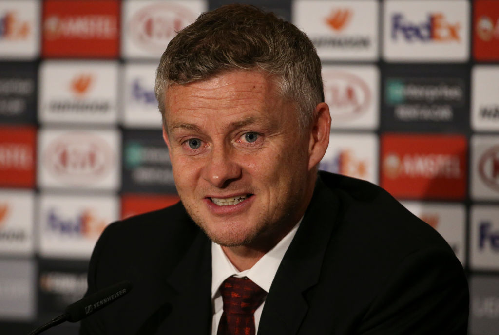 Manchester United manager Ole Solskjaer claims he is happy with the result against AZ Alkmaar