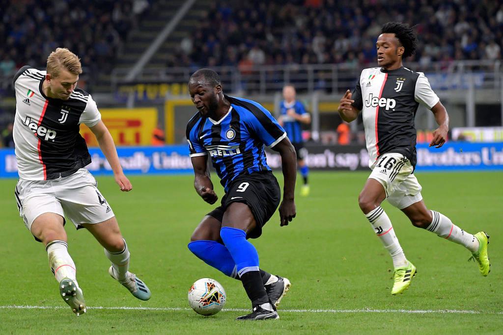 Romelu Lukaku sends Matthijs de Ligt back to Ajax with a classy nutmeg