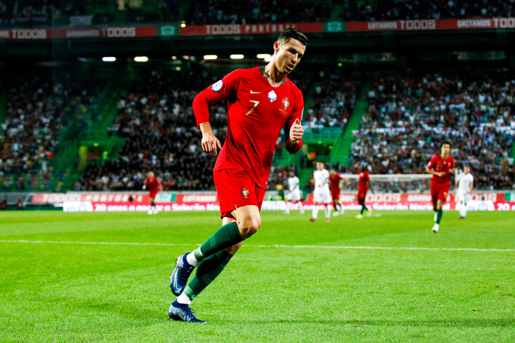 Sporting Lisbon considering changing home stadium name after Cristiano Ronaldo