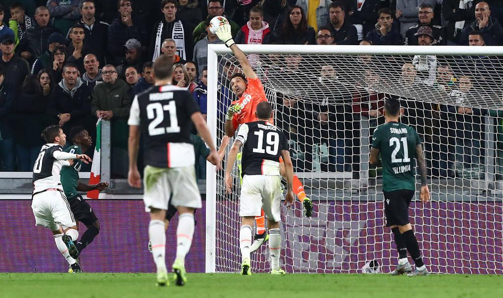 Watch: Gianluigi Buffon's last-minute miracle save helps Juventus beat Bologna
