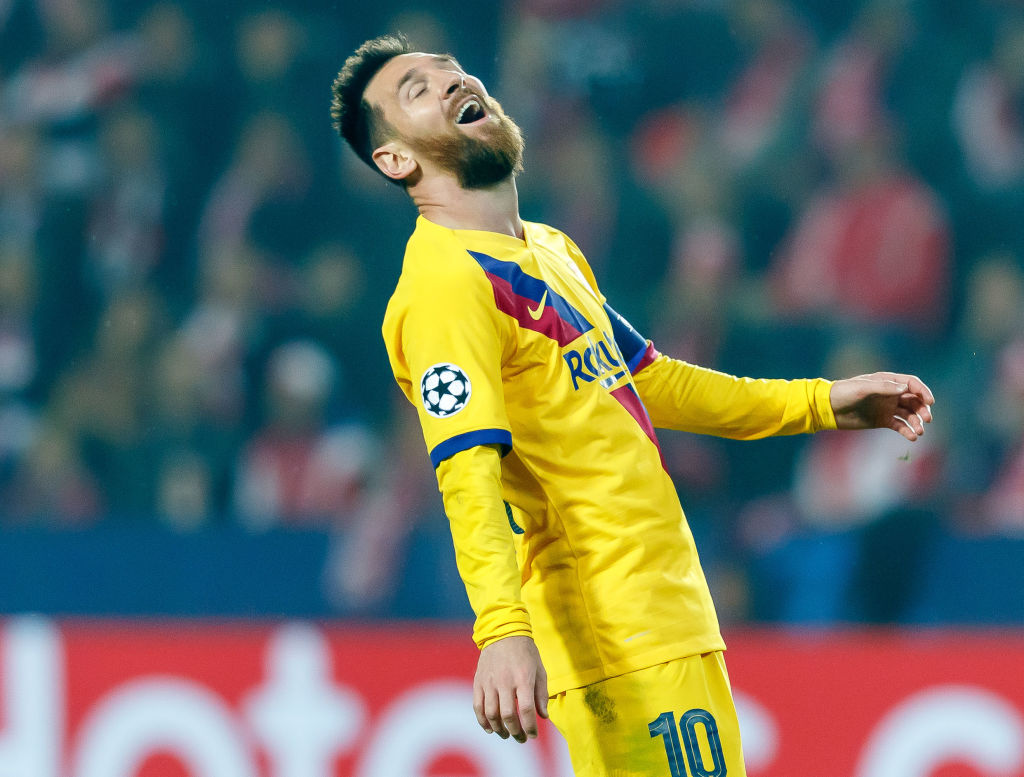 Lionel Messi: The Argentine ace breaks yet another record after the Champions League vs Slavia Praha