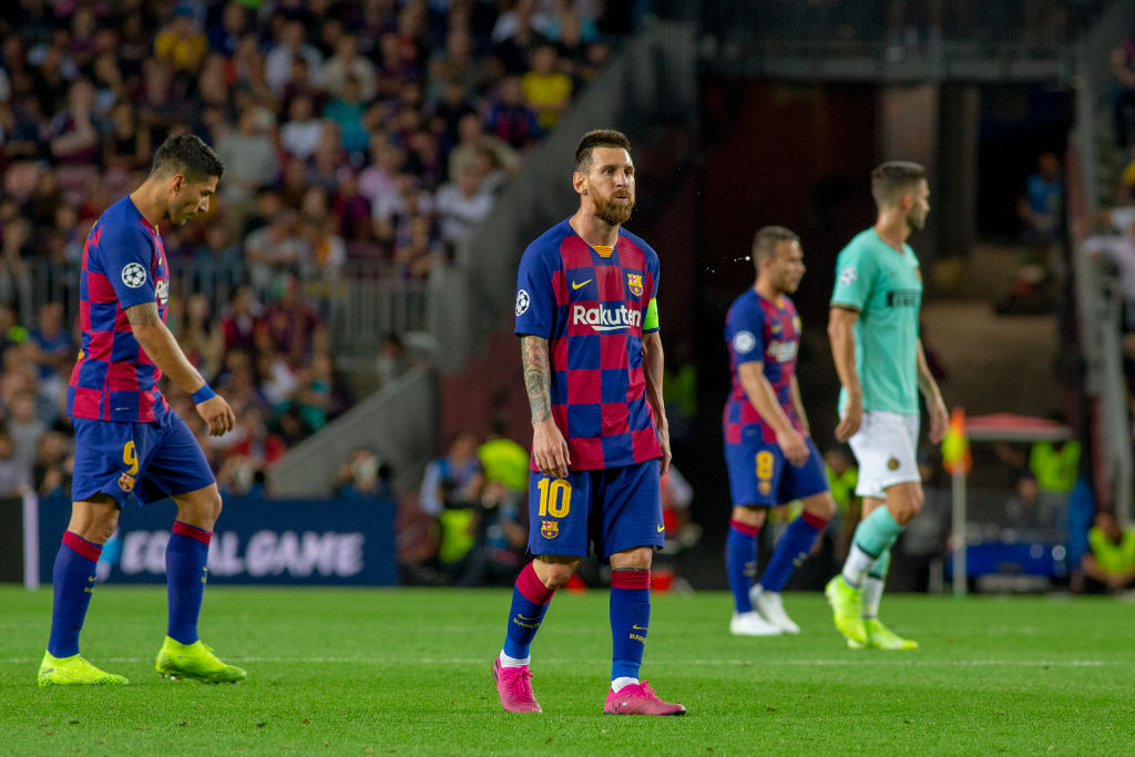 Lionel Messi does not see these two players fit to be in Barcelona's playing XI