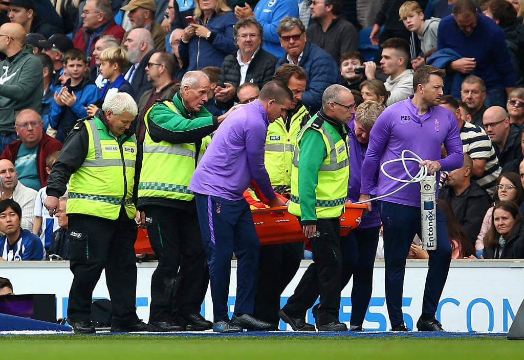 Brighton vs Tottenham: Watch Hugo Lloris commits a blunder and suffers horrific injury