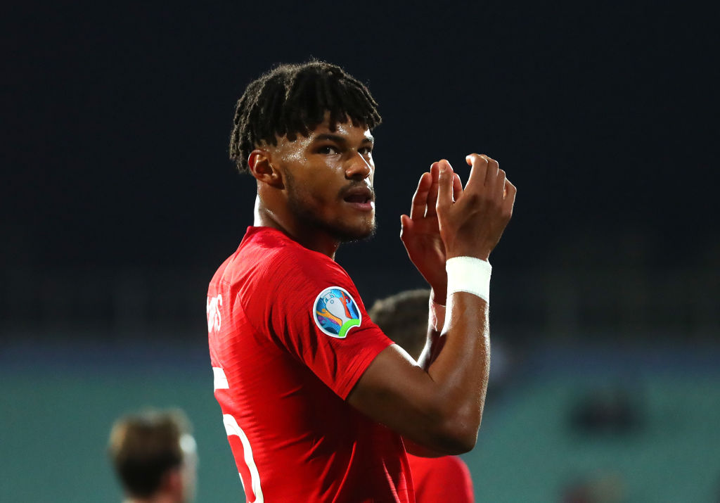 "Tyrone Mings asks official ""Can you hear that?"", while Bulgarian racist fans throw Nazi Salutes in the crowd"