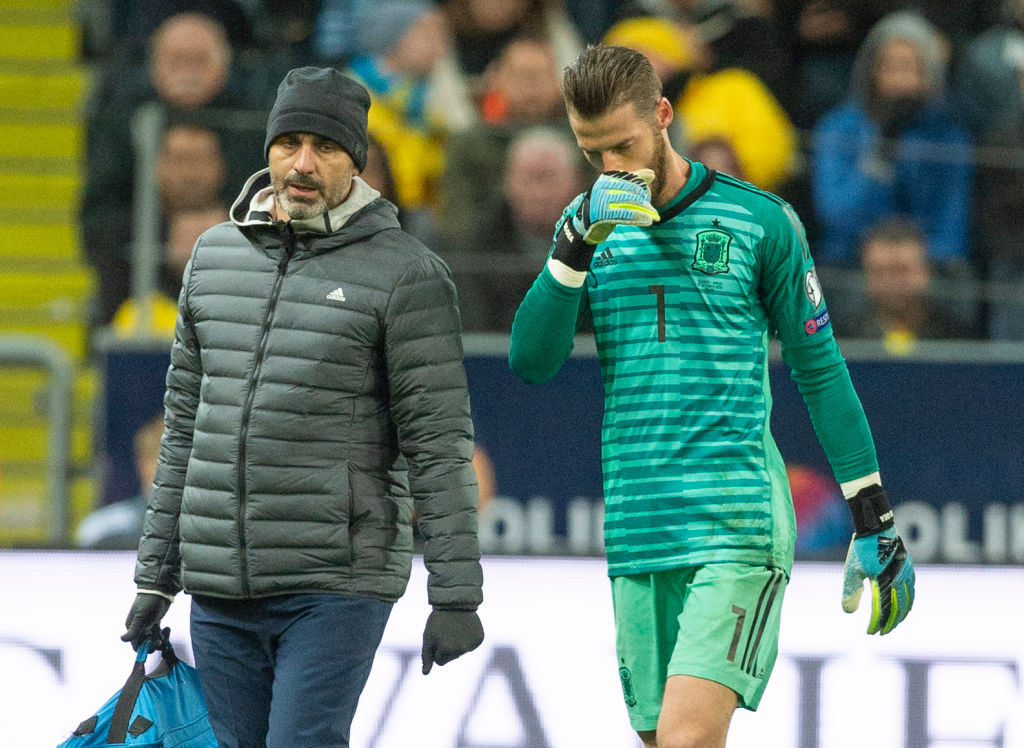 David De Gea Injury News: Will Manchester United goalkeeper play against Liverpool on Sunday?