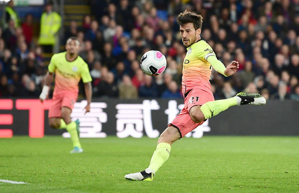 David Silva goal Vs Crystal Palace: Raheem Sterling's splendid pass makes Silva score against Eagles