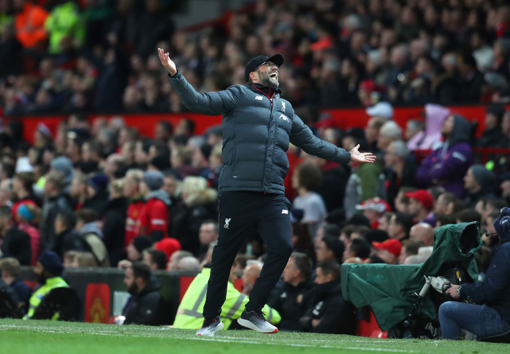 Jurgen Klopp fumes at referees after VAR controversy in the Manchester United vs Liverpool match