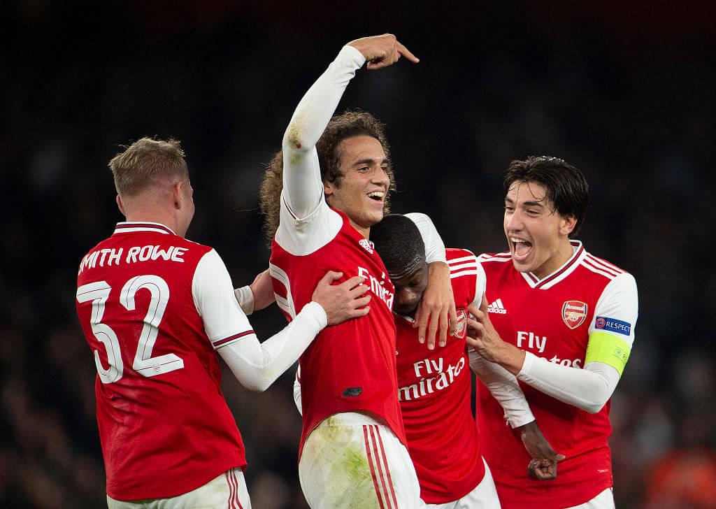 Watch: Nicolas Pepe's phenomenal twin goals from free kicks help win the match for Arsenal vs Vitoria