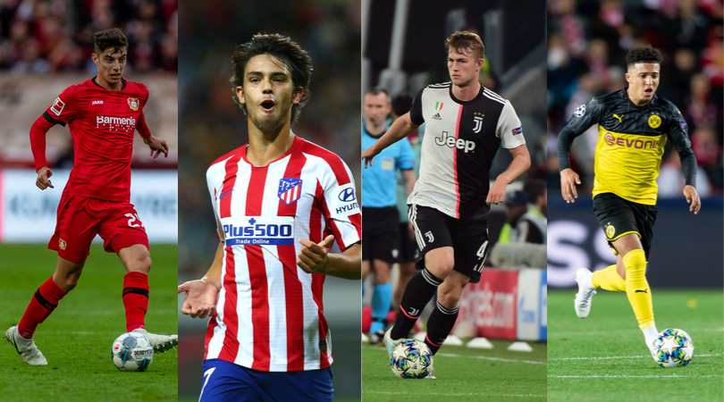 Golden Boy award 2019 Sports Journalists name their 20-man shortlist for the award of the best young player in Europe