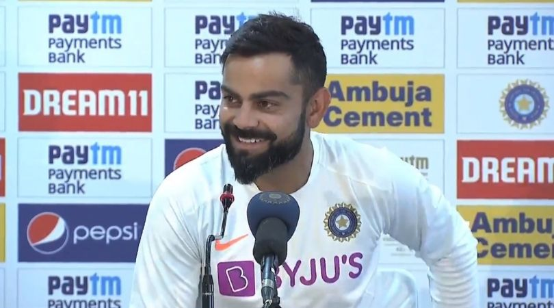 WATCH: Virat Kohli's hilarious reply on if the Indian team will visit MS Dhoni's home in Ranchi