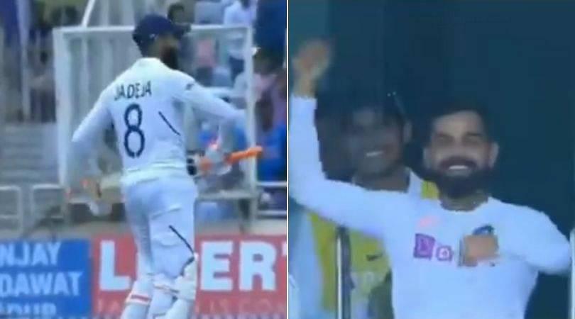 WATCH: Virat Kohli joins Ravindra Jadeja in sword celebration post Jadeja's 13th Test half-century