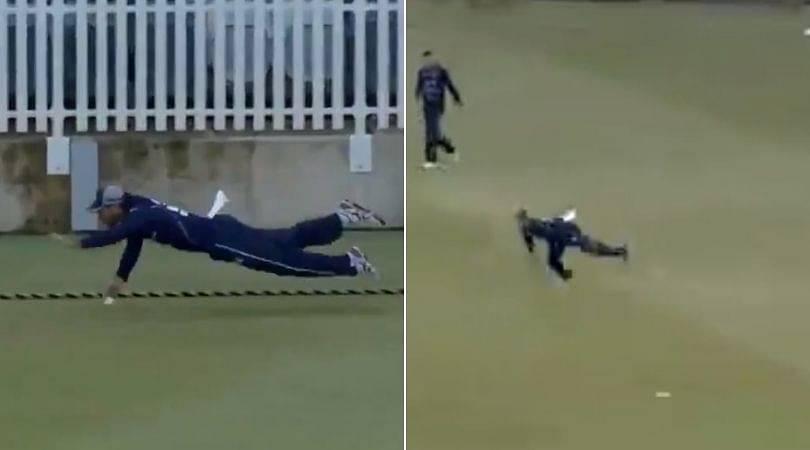 WATCH: Glenn Maxwell's splendid fielding efforts vs Western Australia in Marsh Cup