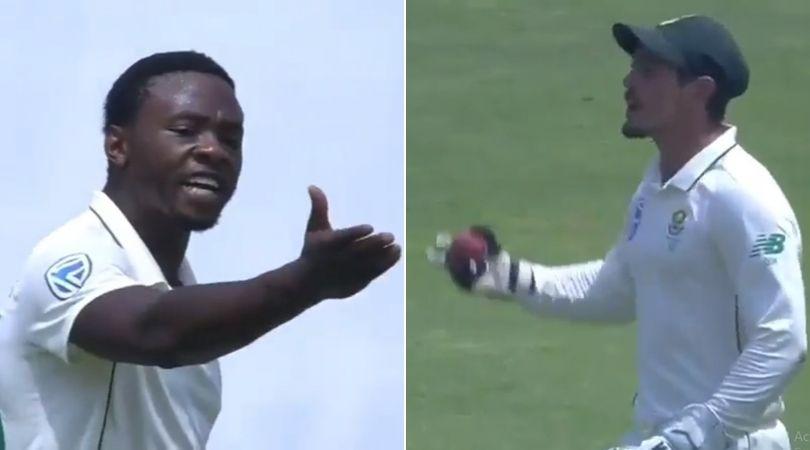 Kagiso Rabada-Quinton de Kock fight: Watch South African pair indulges in altercation during Pune Test vs India