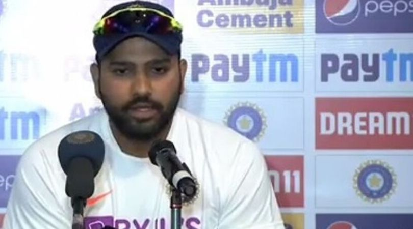 WATCH: Rohit Sharma thanks team management for letting him open the batting vs South Africa