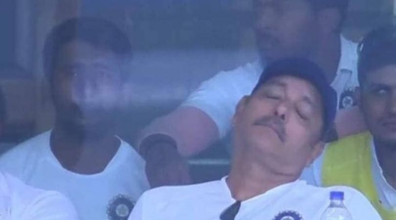 Ravi Shastri replies to critics post sleeping photo from Ranchi Test goes viral