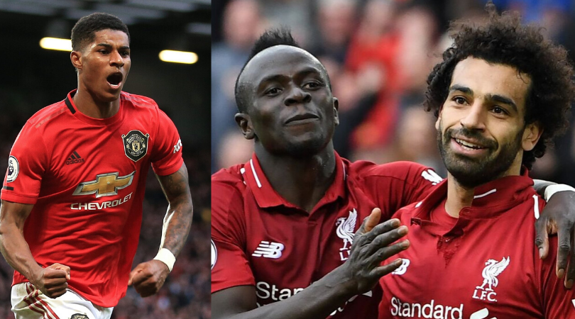 Stats show that Marcus Rashford has performed equal to or better than Salah and Mane