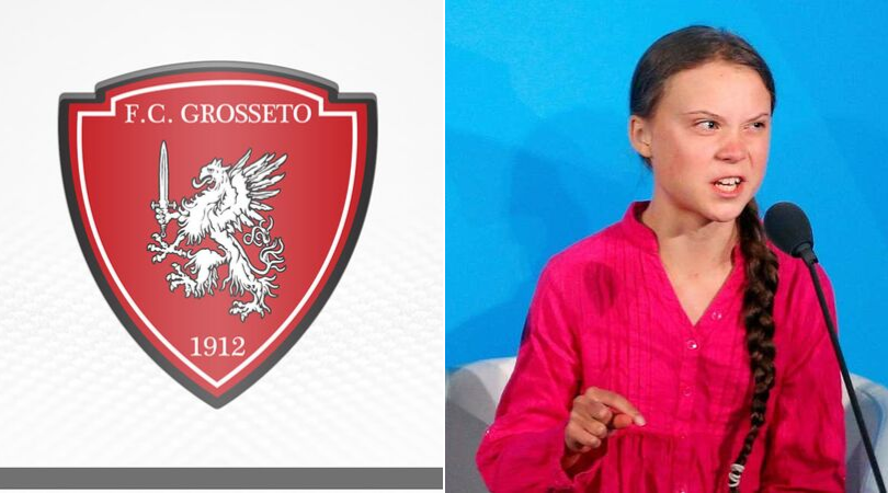 Serie D sack coach for sickening post on climate activist Greta Thunberg