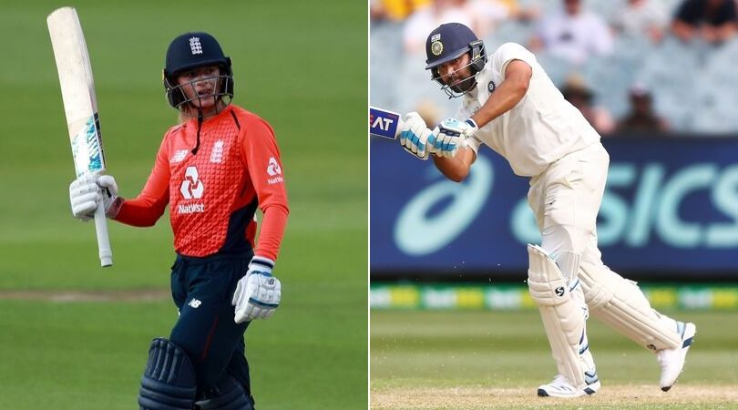 Danielle Wyatt praises Rohit Sharma on Instagram after Indian batsman's performance against South Africa