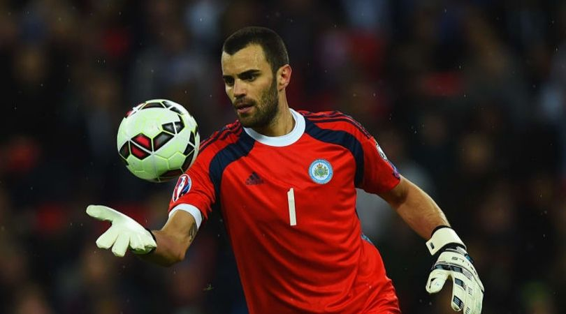 San Marino goalkeeper picks up ball outside his box results in conceding a goal through free-kick