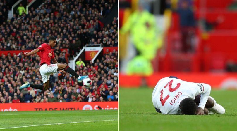 Man Utd Vs Liverpool VAR Controversy: Marcus Rashford scores after foul on Divock Origi waived off by referee