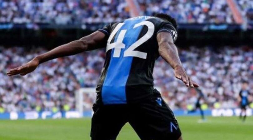 Emmanuel Dennis produces Cristiano Ronaldo celebration after scoring brace against Real Madrid