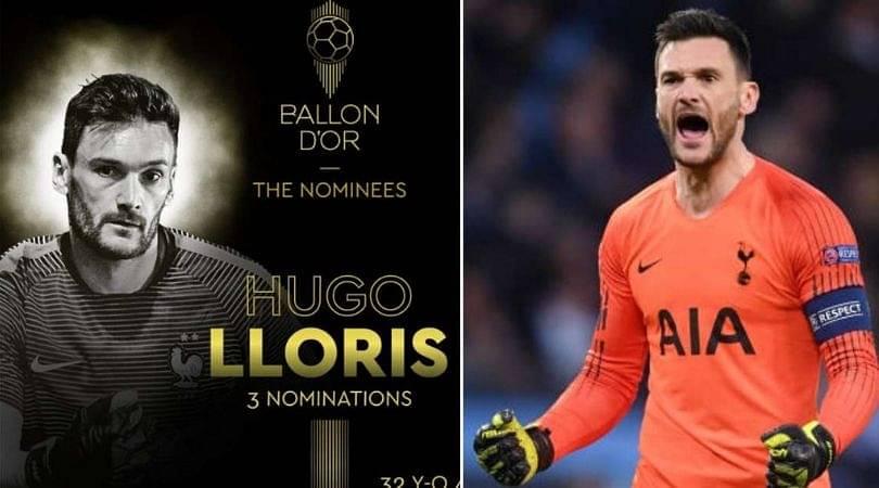Hugo Lloris' shock entry into Ballon D'or 30-men final list along with Messi, Ronaldo and Van Dijk
