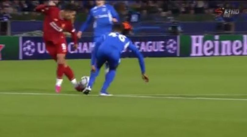 Roberto Firmino almost makes assist of the season against Genk in Champions League