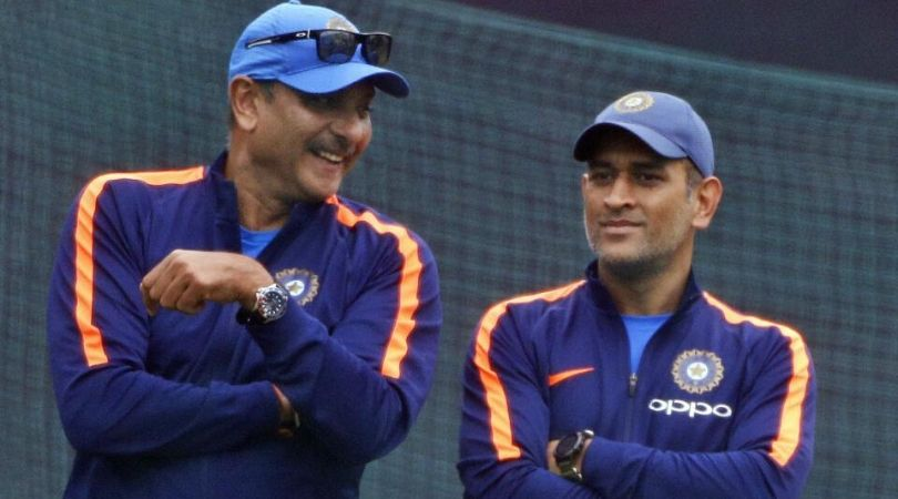 Ravi Shastri claims MS Dhoni's retirement is near; let it happen when it has to