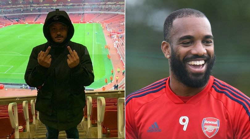 Alexandre Lacazette likes social media post calling to sack Emery and Xhaka to f**k off