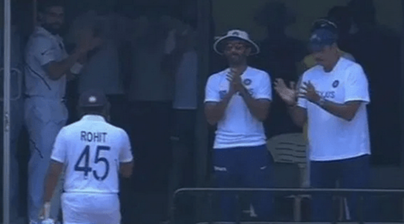 Watch: Virat Kohli thunderously claps for Rohit Sharma and keeps the door open for him